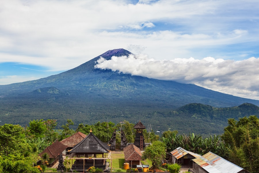 Bali volcans à voir